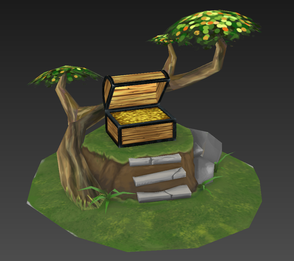 Forest Throne Wip02