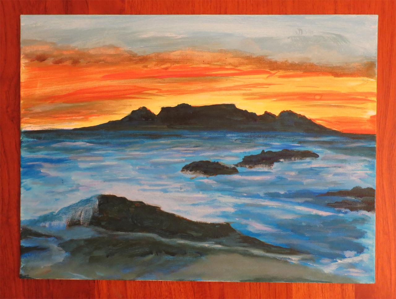 Colorful Sea Landscape