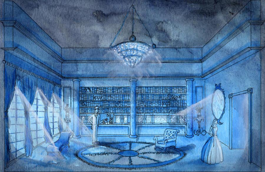 Masqueofthereddeath Blue Room By Pimpdaddyhetzer On Deviantart