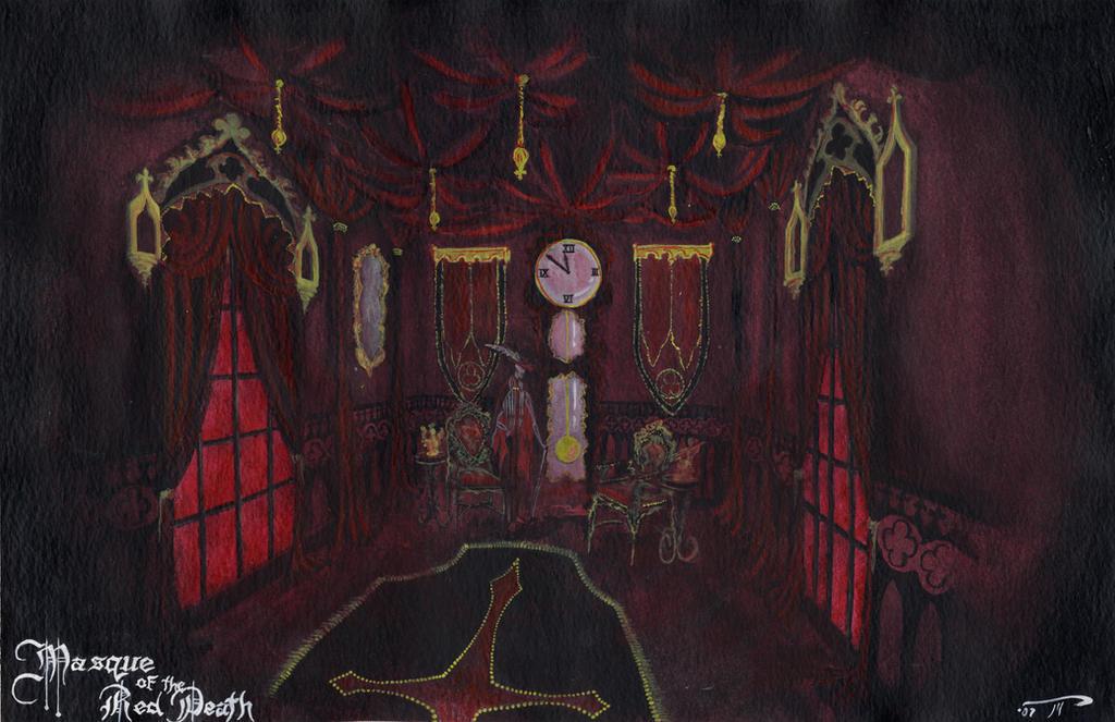 Masqueofthereddeath Black Room By Pimpdaddyhetzer On