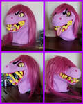 Susie Cosplay Head (Deltarune) by Psycho-Snail