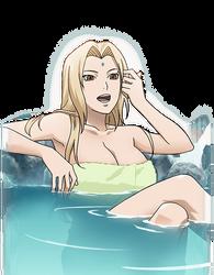 Tsunade Hot Springs Render