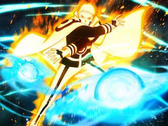 Naruto Uzumaki [Mini Rasen Shuriken] by DP1757