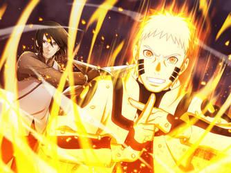 Naruto Uzumaki [Perfect Synchronization] by DP1757