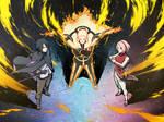 Adult Naruto, Sakura, Sasuke   Ninja Tribes Art by DP1757