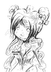 Djane character from my manga Elbrasombre.