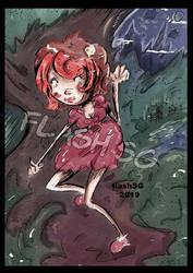 Maelice Diabolique la vampire