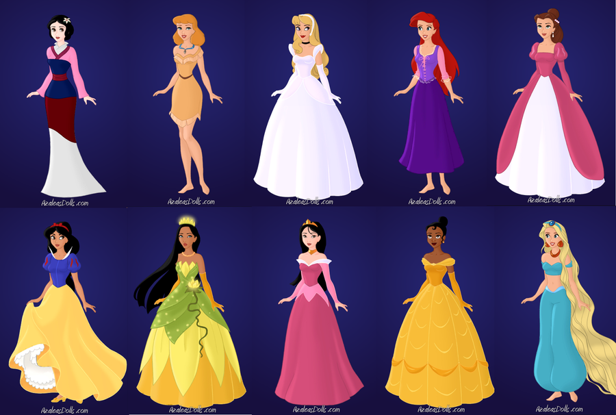 Character Design Dress Up Game : Prrincess dress up by failymforever on deviantart