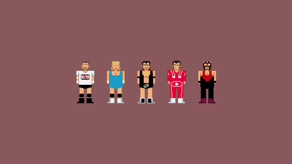 Iconic Wrestlers by rolito86
