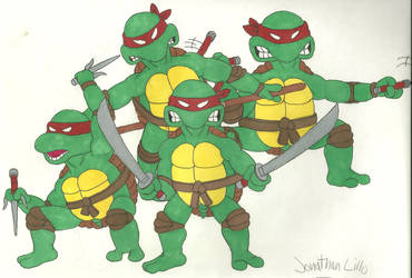 TMNT 1984 by JonathanLillo