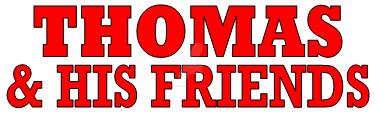 Thomas  his Friends Logo by JonathanLillo