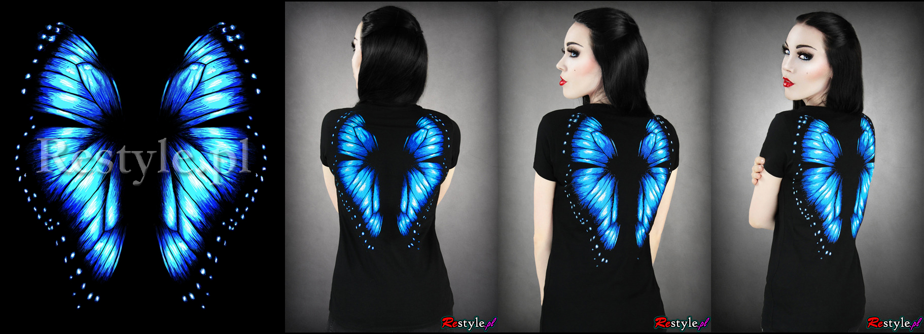 Blue Butterfly by Euflonica