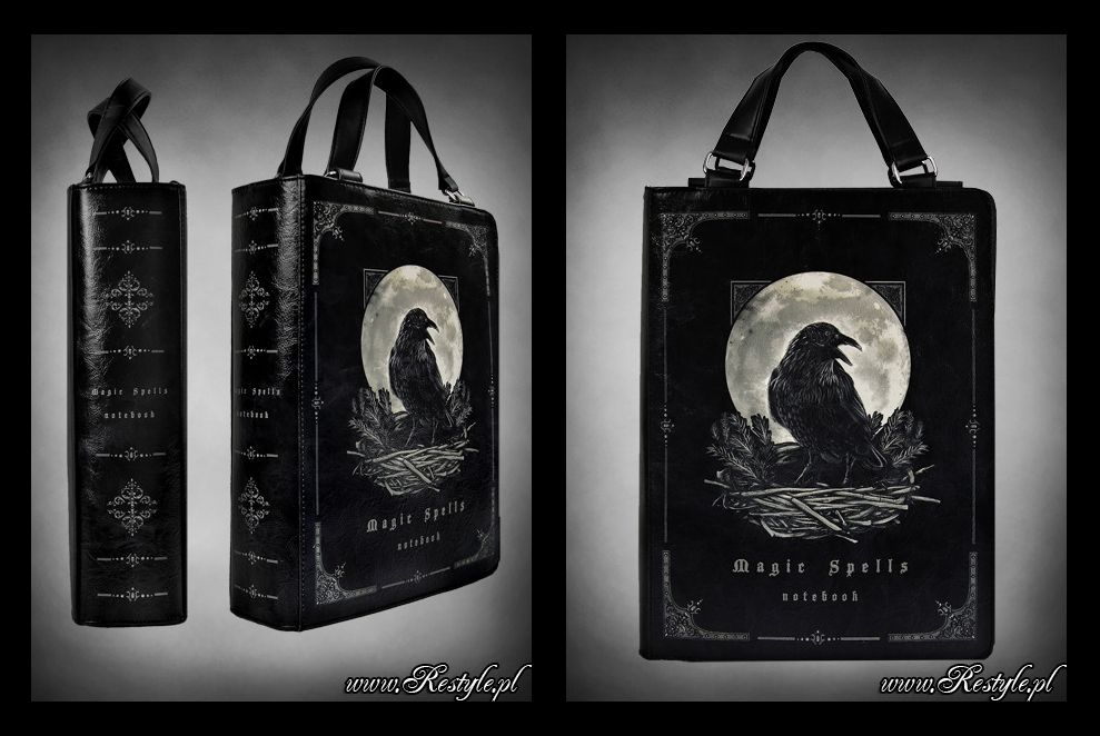 Magic Spells book bag by Euflonica
