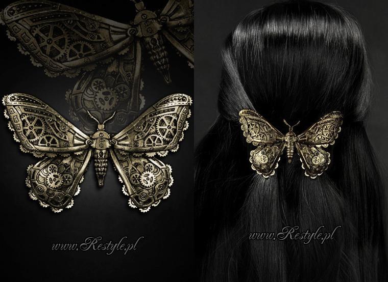 Mechanical Moth brass by Euflonica