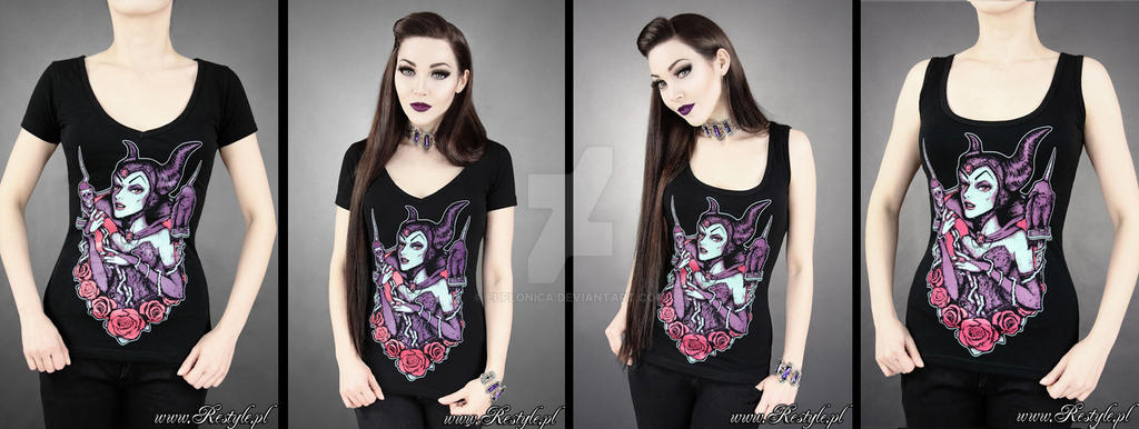 Maleficent T-shirt by Euflonica