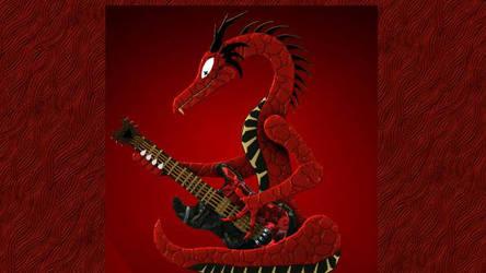 Reitselai Dragons - Guitar v.2 (red) by Retsamehtmai