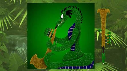 Reitselai Dragons - Bassuba v.2 (green) by Retsamehtmai