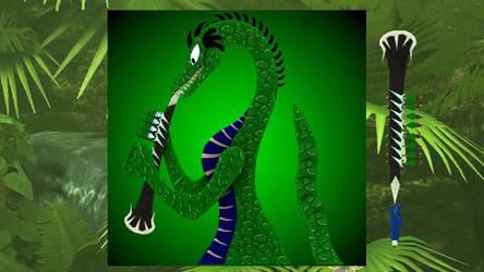 Reitelai Dragons - Clarinet (green) by Retsamehtmai