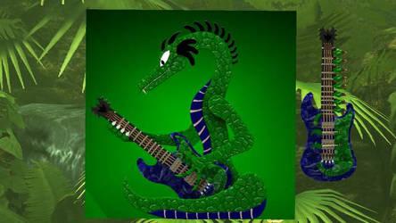 Reitselai Dragons - Guitar v.2 (green) by Retsamehtmai