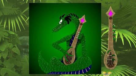 Reitselai Dragons - Sitoko (green) by Retsamehtmai