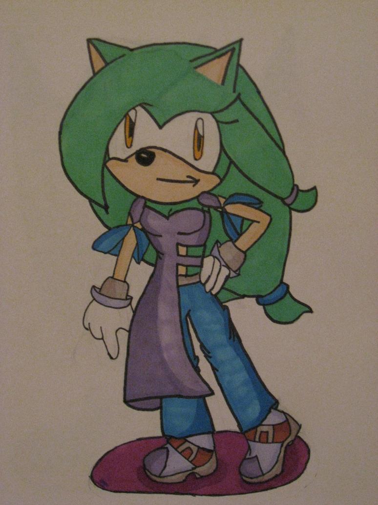 Luna the Hedgehog by cat55