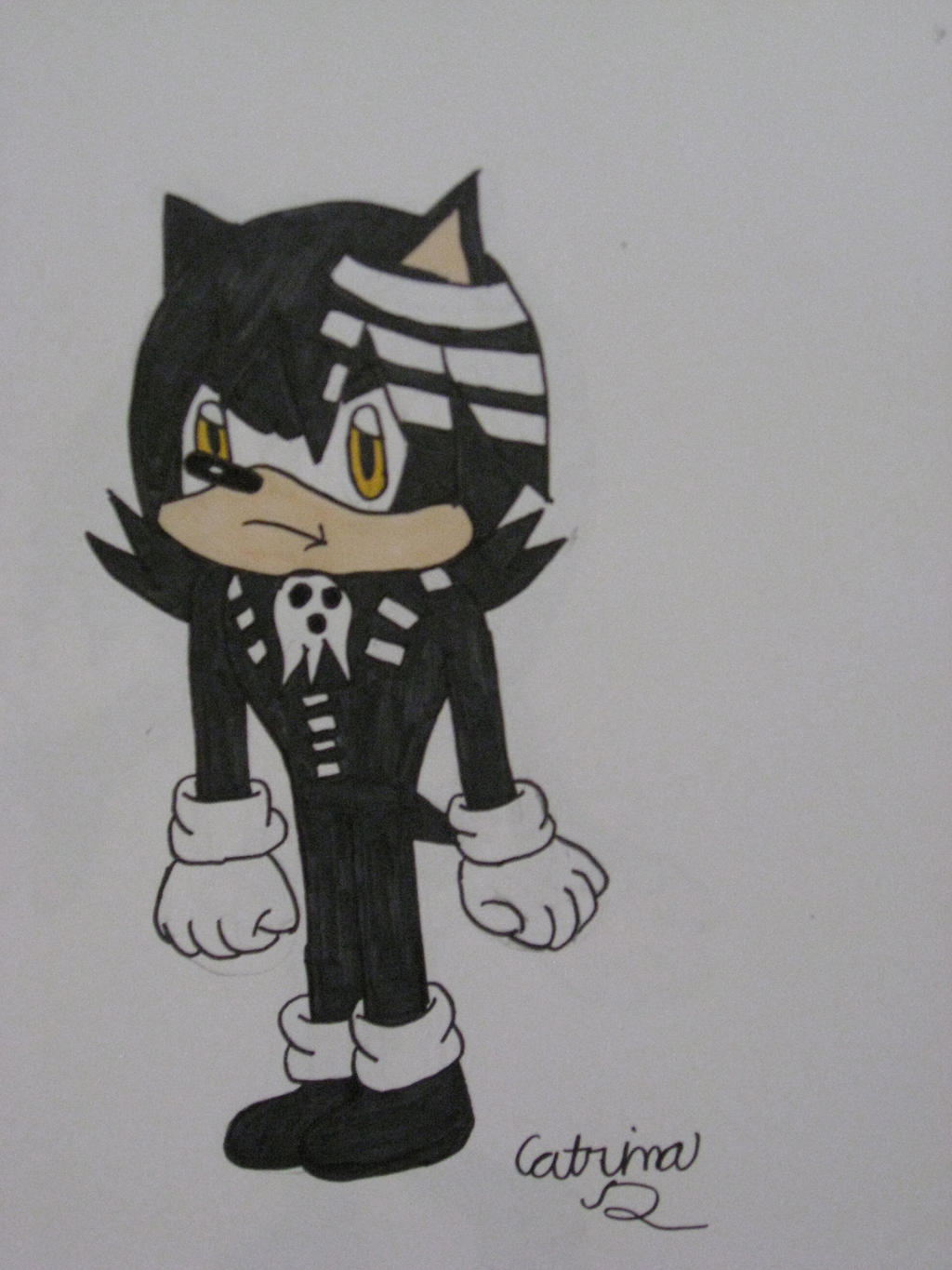 Death the Kid Hedgehog by cat55