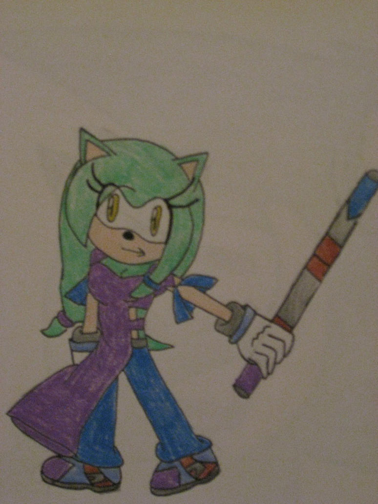 Luna in battle by cat55