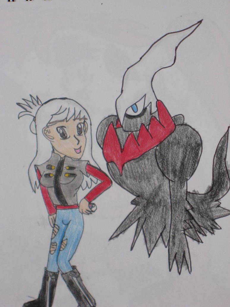 Trina- skully and Darkrai by cat55