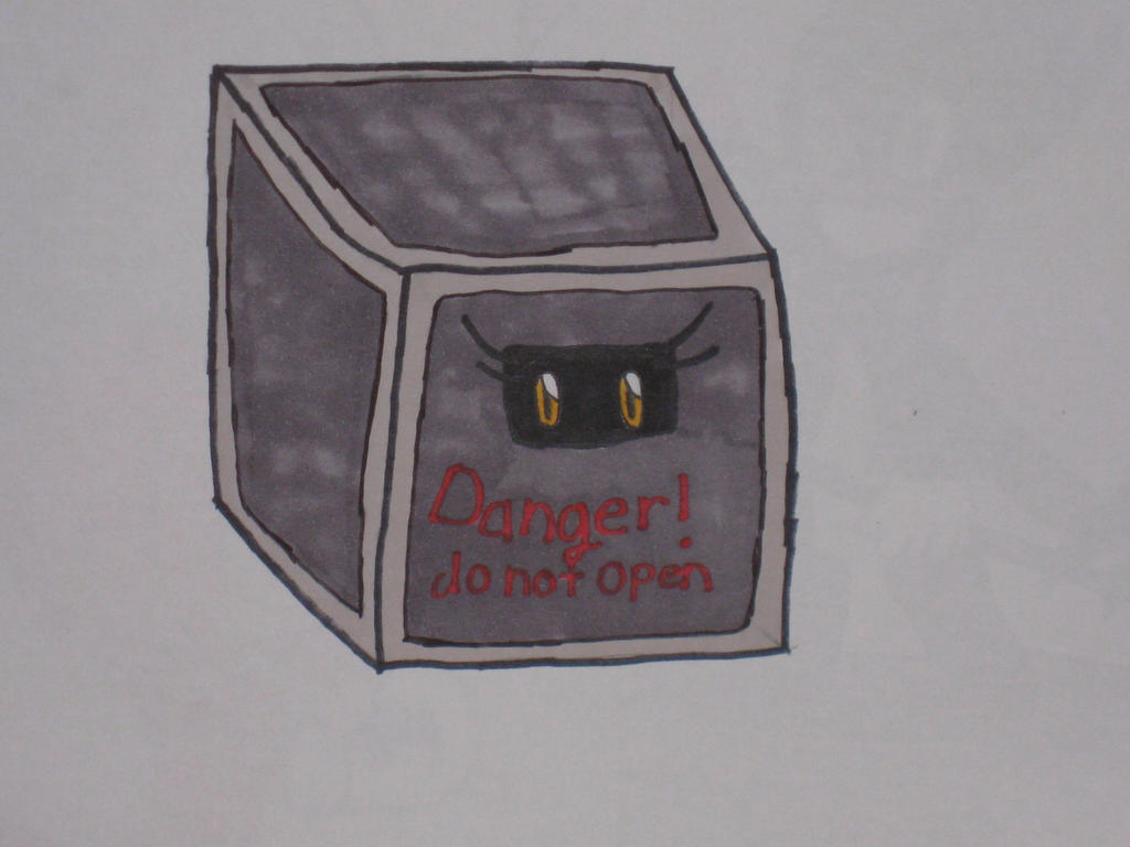 Sonic and his friends put luna in a box by cat55
