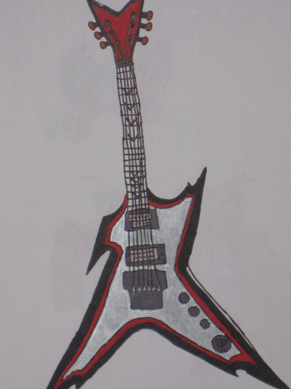 Blind's Guitar by cat55