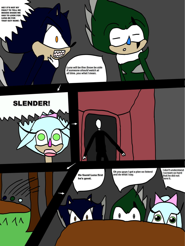 Pg.3 Luna meet Slender by cat55