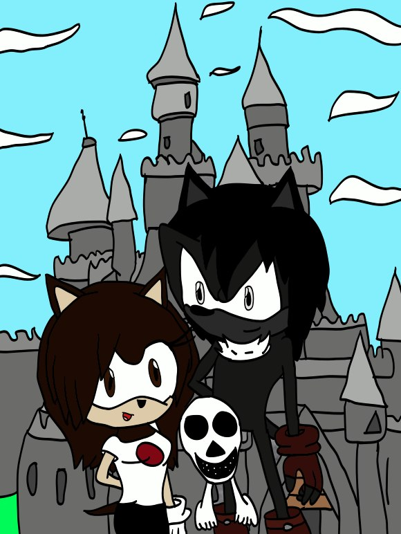 Me,Darkness, and Charlie by cat55