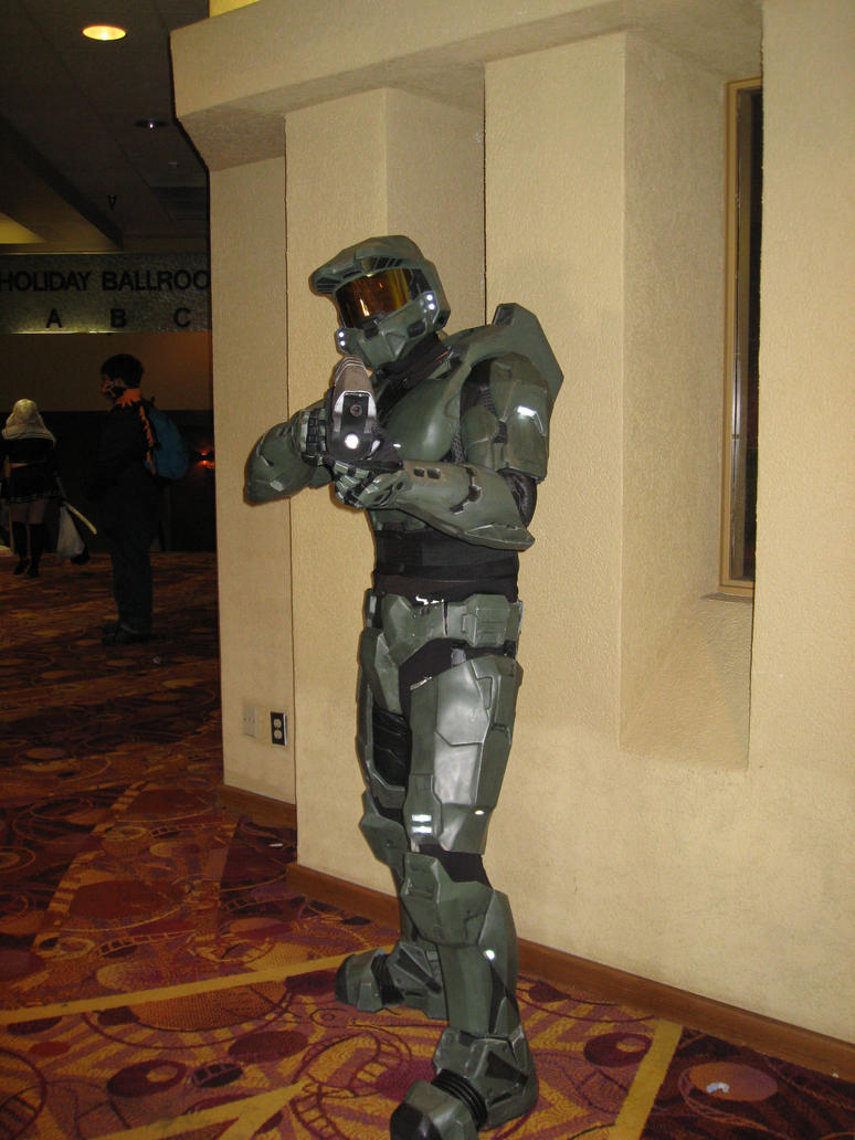 Halo Man by cat55