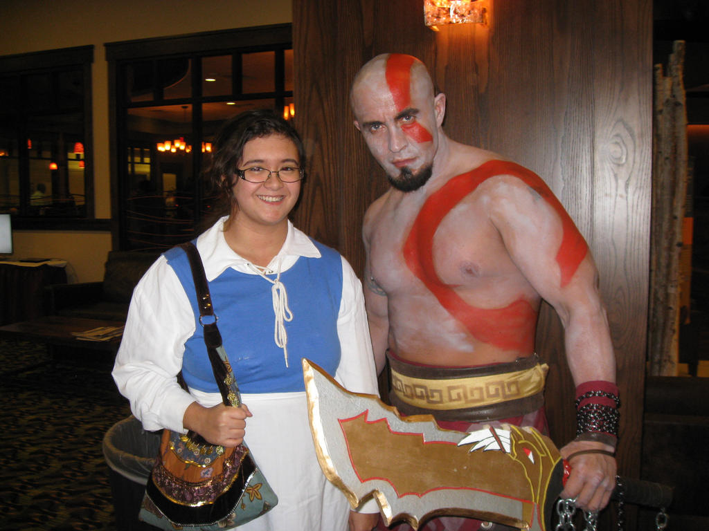 kratos and Bell by cat55