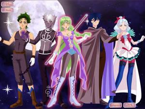 sailor luna and friends