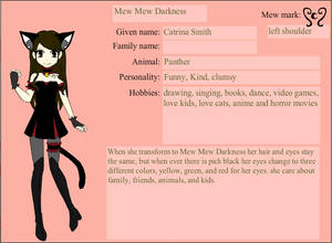 my Mew Mew character