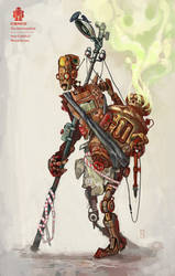 Iron-Crutch Li by monartt