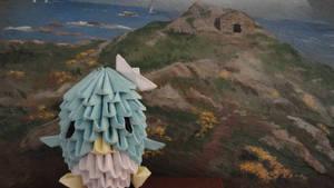 Tuxedo Sam Origami 3D by SeltonM
