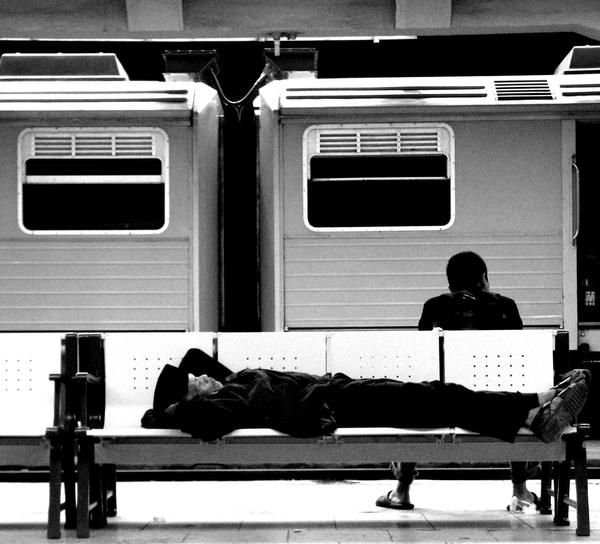 asleep by kutuubocah