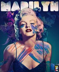 Marilyn by kaneda99