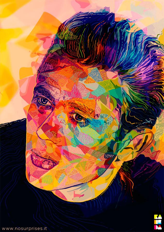 James Dean by kaneda99