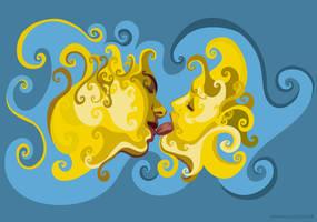 kiss 2 by kaneda99