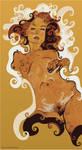 Schiele Nude 2 Reinterpreted by kaneda99