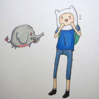Heres a sticker Finn... by Kaylethpop