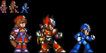 Megaman x4 Iris 16 bits