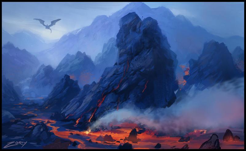 Lavascape by Zoriy