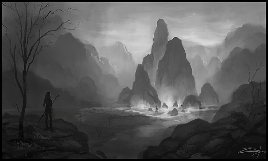 Spire rocks by Zoriy