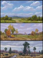 Landscapes by Zoriy