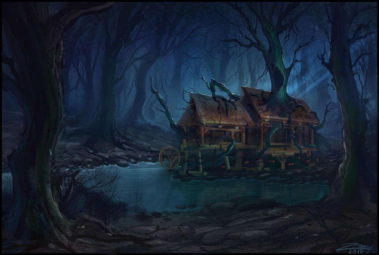 Tartak Haunted_sawmill_by_zoriy-d4h59oh