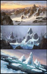 Snow sketches